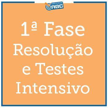 1ª Fase Exame XXVII